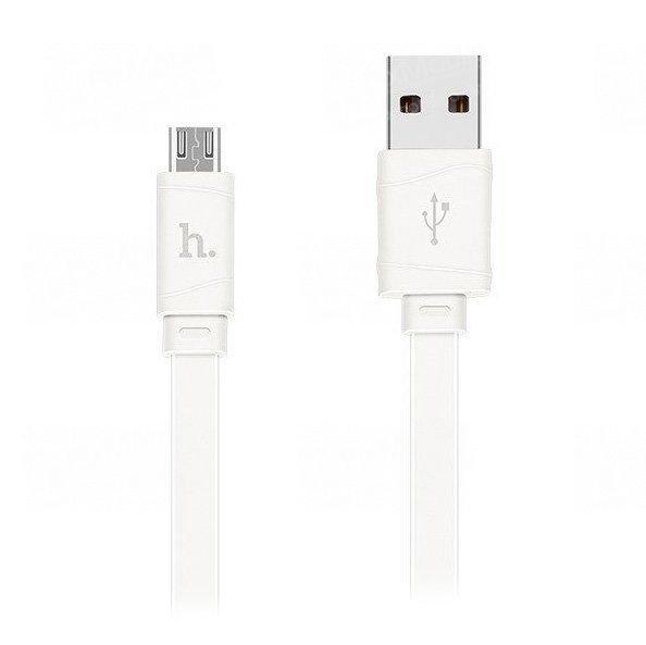 Кабель HOCO X5 Bamboo (USB - micro-USB) белый