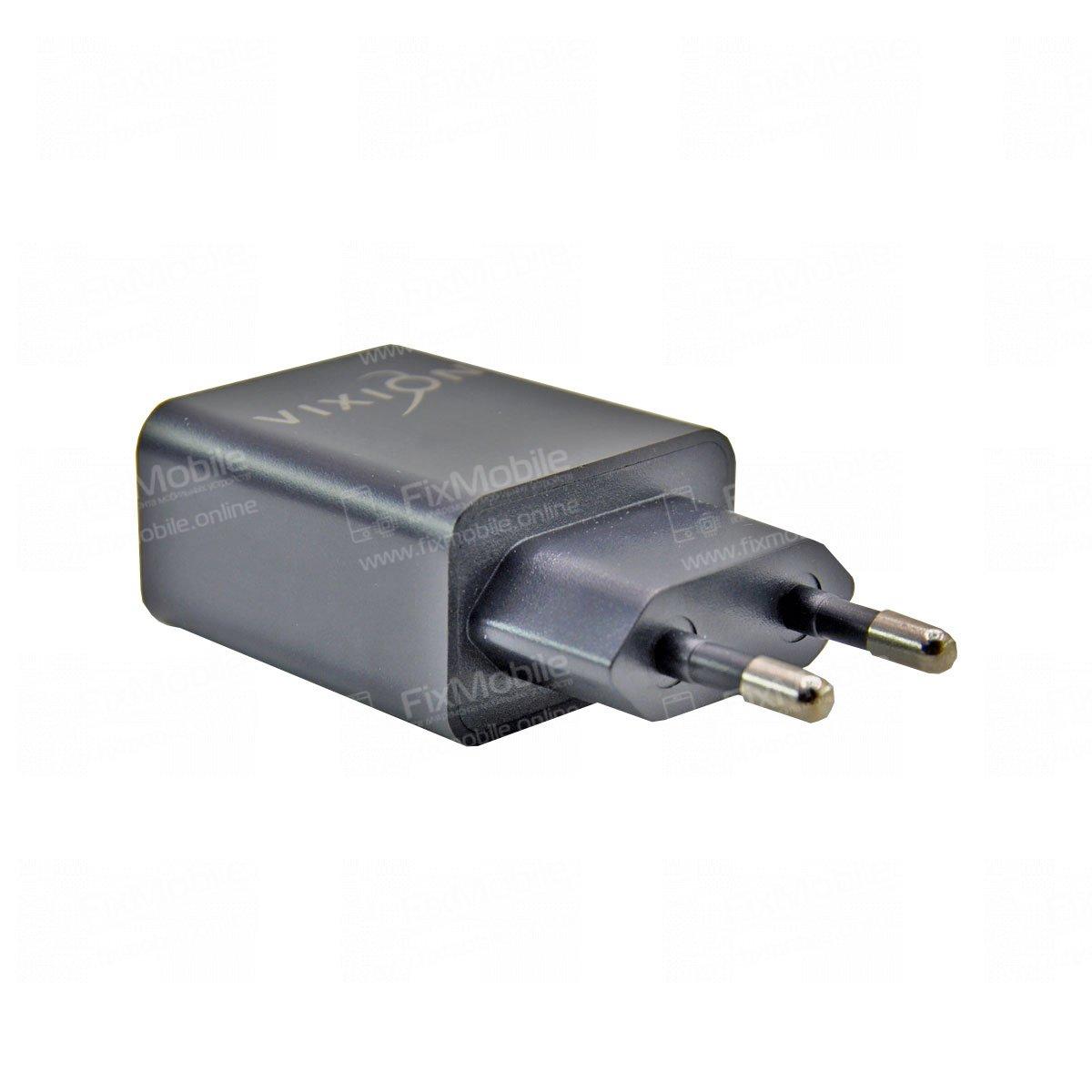 Сетевое зарядное устройство VIXION L7 2USB 2.1A (черное)